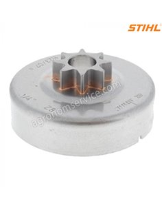 Звездочка цепи 1/4'' 8 зубов бензопилы Stihl MS 170 - 11236402007