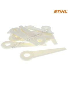 Комплект пластиковых ножей 12шт для косильной головки PolyCut - 41110071001