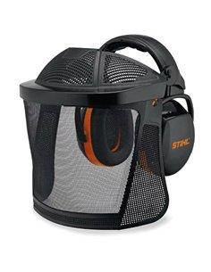 Защита лица нейлоновая сетка с наушниками и дополнительной защитой головы Stihl - 00008840254