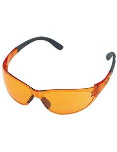 Очки защитные Stihl Contrast оранжевые - 00008840324