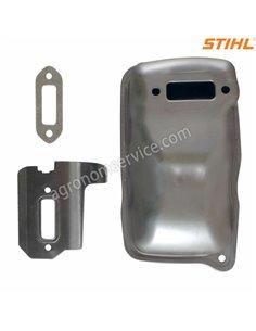 Глушитель бензореза Stihl TS 420 - 42381400610