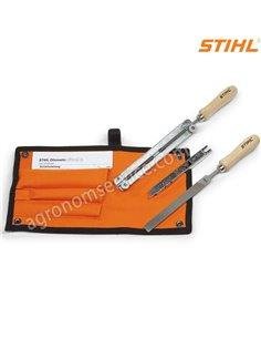 """Заточной набор Stihl Ø 4,0 мм для цепей 1/4"""" и 3/8"""" Р - 56050071027"""