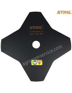 Нож Stihl 4 зубый 230мм для мотокос Stihl FS 55 - 250 - 40017133801