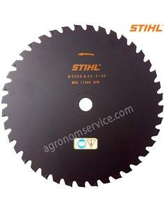 Нож Stihl 40 зубый 250мм для мотокос Stihl FS 260 - 560 - 40007133806