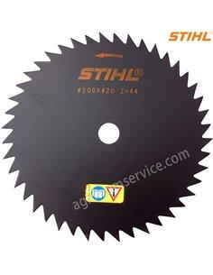 Нож Stihl 44 зубый 200мм для мотокос Stihl FS 260 - 490 - 40007134200